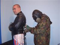 8 army putting cyc in straitjacket